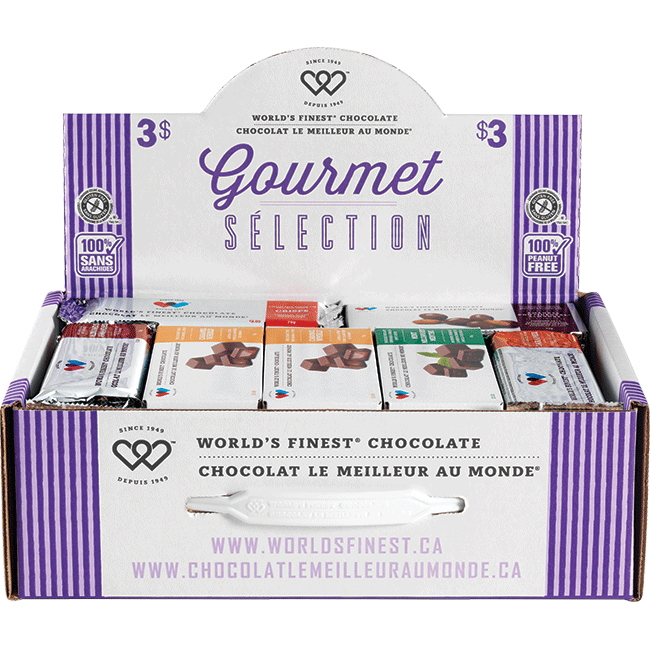 Gourmet Selection Suitcase – Peanut Free Regional – $3