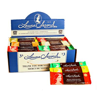 Laura Secord - Sans noix ni arachides - 3 $