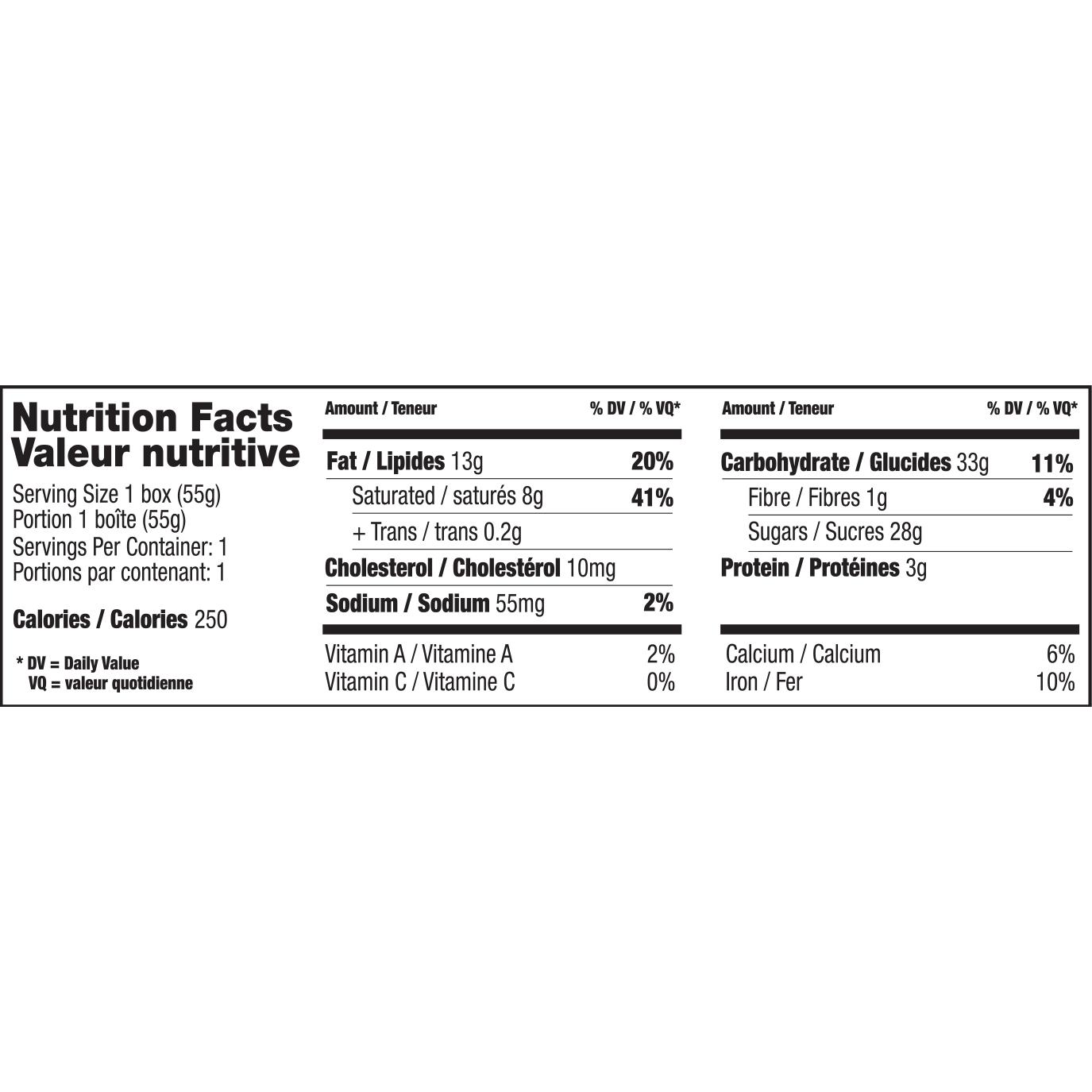 Chocolate Box – Nut & Peanut Free – $2